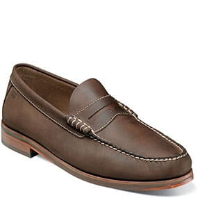 Heads Up Moc Toe Penny Loafer in Brown CH for 49.90 dollars.