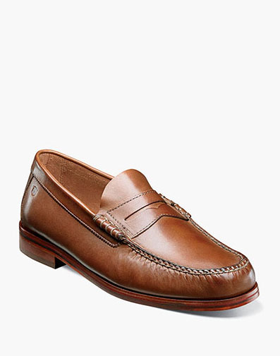 Heads Up Moc Toe Penny Loafer in Cognac for 49.90 dollars.