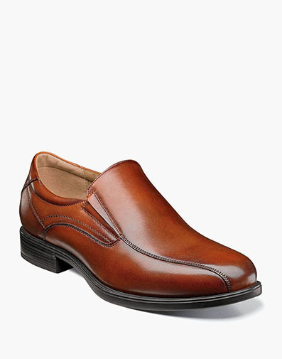 Midtown Bike Toe Slip On in Cognac for 115.00 dollars.