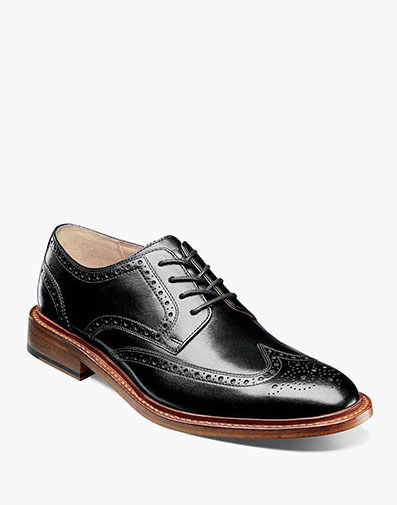 Mercantile Wingtip Oxford in Black for 69.90 dollars.
