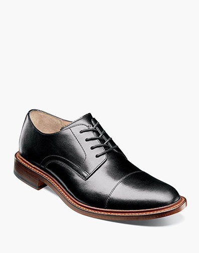 Mercantile Cap Toe Oxford in Black for 69.90 dollars.