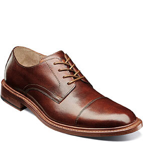 Mercantile Cap Toe Oxford in Cognac for $195.00