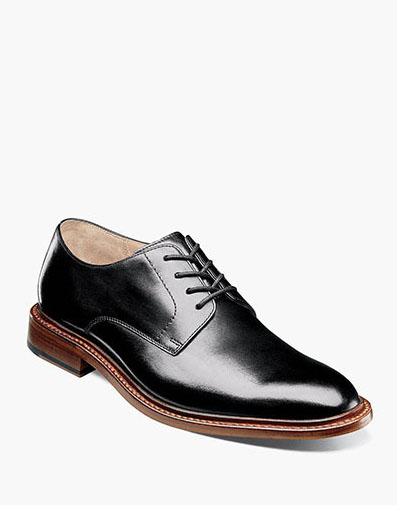 Mercantile Plain Toe Oxford in Black for $195.00