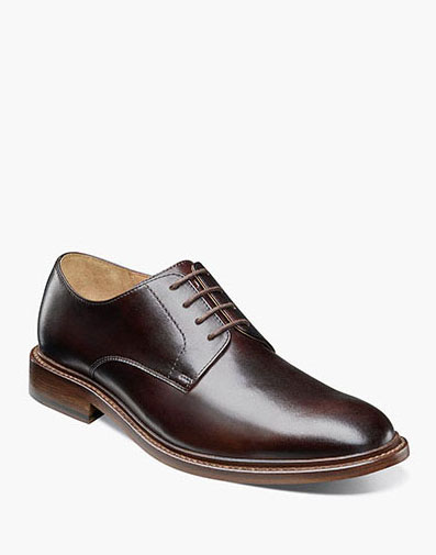 Mercantile Plain Toe Oxford in Brown for $195.00