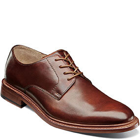 Mercantile Plain Toe Oxford in Cognac for $195.00