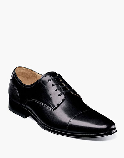 Palermo Cap Toe Oxford in Black for 129.90 dollars.