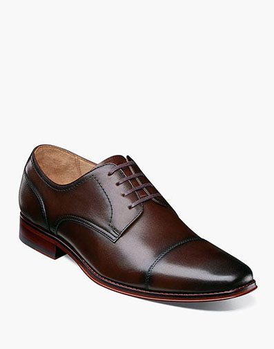 Palermo Cap Toe Oxford in Brown for 129.90 dollars.