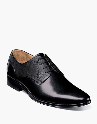Palermo Plain Toe Oxford in Black for 129.90 dollars.