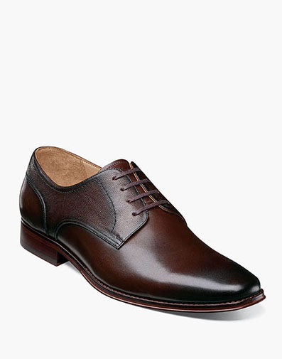 Palermo Plain Toe Oxford in Brown for 129.90 dollars.