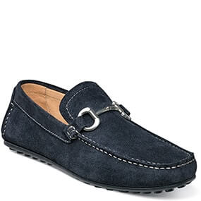 Danforth Moc Toe Bit Loafer in Navy for 69.90 dollars.