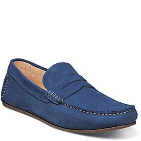 Denison Moc Toe Penny Driver in Blue for $69.90