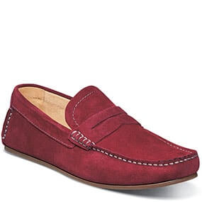 Denison Moc Toe Penny Driver in Red for $69.90