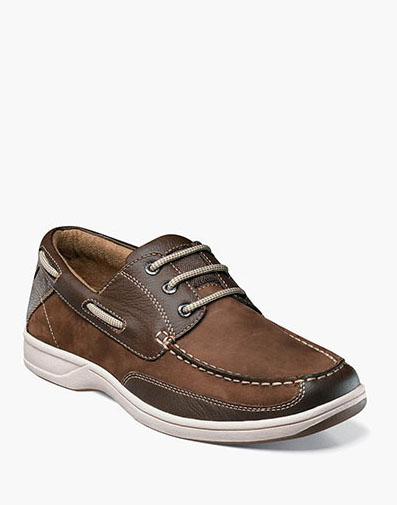 Lakeside Oxford Boat Shoe in Brown for 105.00 dollars.
