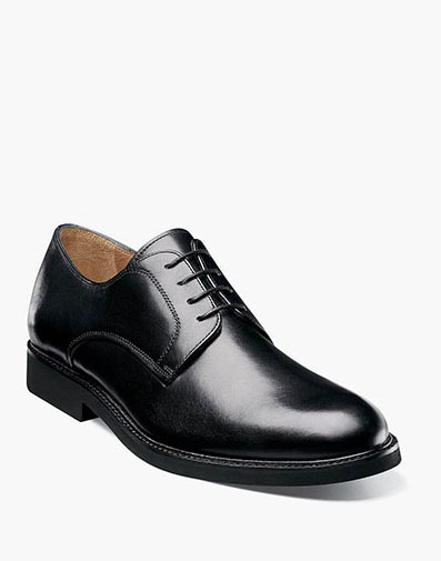 Gallo Plain Toe Oxford in Black for 89.90 dollars.