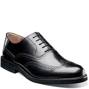 Gallo Wingtip Oxford in Black for 69.90 dollars.