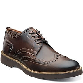 Casey  Wingtip Oxford in Brown for $59.90