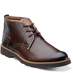 Casey Chukka Plain Toe Boot in Brown for $84.90