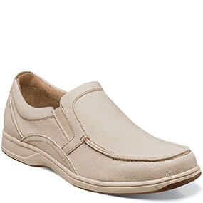 Lakeside  Moc Toe Slip On in Natural for $49.90