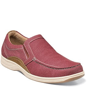 Lakeside  Moc Toe Slip On in Red for $49.90