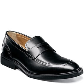 Hamilton  Moc Toe Penny Loafer in Black for $89.90