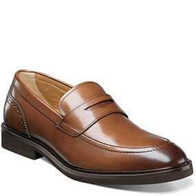 Hamilton  Moc Toe Penny Loafer in Cognac for $89.90