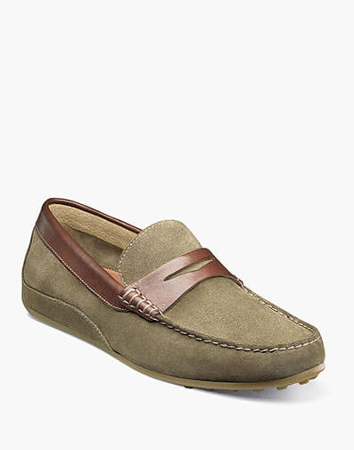 Oval Moc Toe Penny Driver in Dirty Buck Multi for $59.90