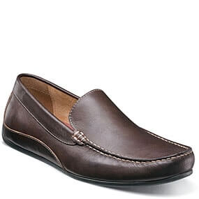 Oval  Moc Toe Venetian Driver in Brown for 79.90 dollars.