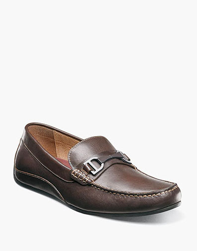Oval Moc Toe Bit Driver in Brown for 79.90 dollars.