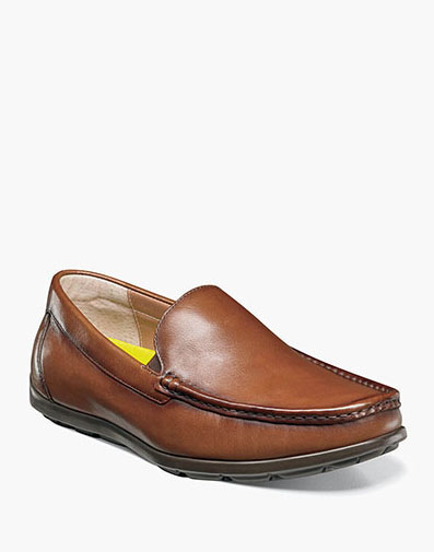 Draft Moc Toe Venetian Driver in Cognac for 79.90 dollars.