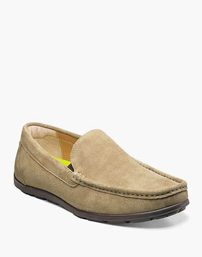 Draft Moc Toe Venetian Driver in Dirty Buck for 79.90 dollars.