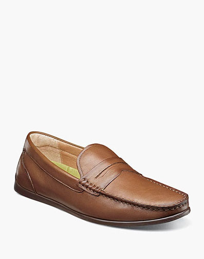 Draft Moc Toe Penny Driver in Cognac for $99.90