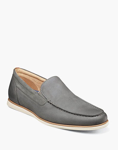 Atlantic Moc Toe Venetian Slip On in Gray for 79.90 dollars.