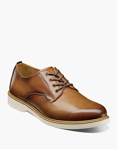 Supacush Plain Toe Oxford in Cognac for $100.00