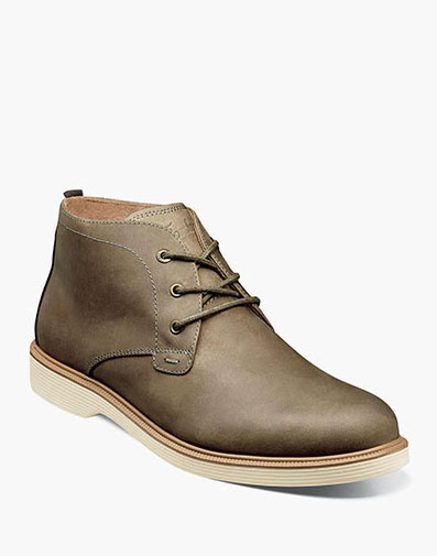 Supacush Plain Toe Chukka Boot in Mushroom for $110.00