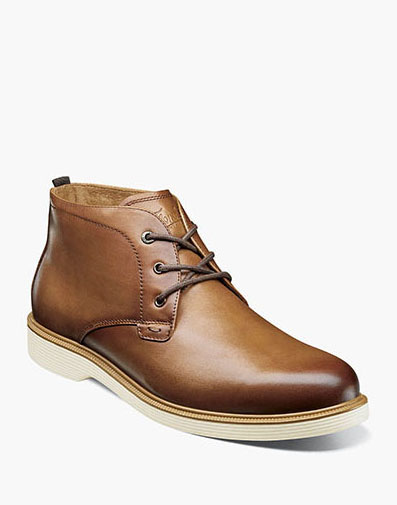 Supacush Plain Toe Chukka Boot in Cognac for $110.00