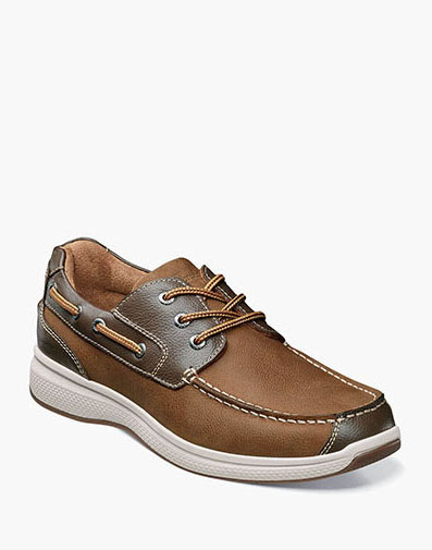 Great Lakes Moc Toe Oxford in Stone for $100.00