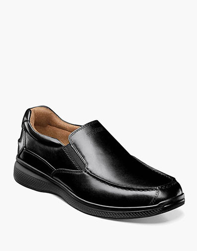 Great Lakes Moc Toe Slip On in Black for $100.00
