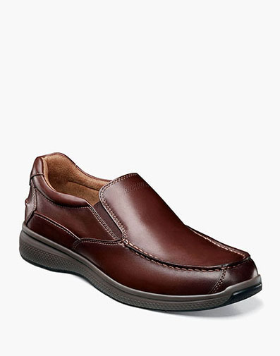 Great Lakes Moc Toe Slip On in Brown for $100.00