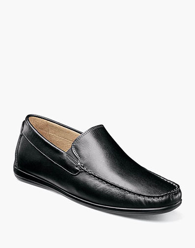 Intrepid Moc Toe Venetian Driver in Black for 69.90 dollars.