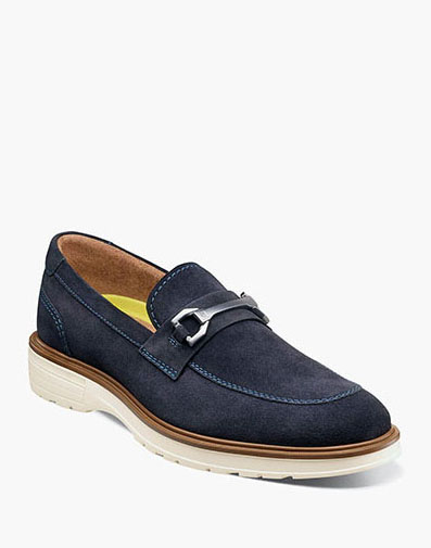 Astor  in Navy Suede for 100.00 dollars.
