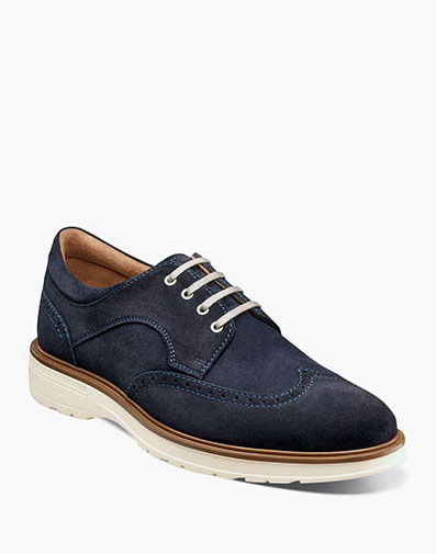 Astor  in Navy Suede for $100.00