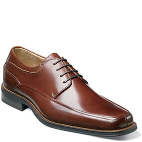 Cortland Moc Toe Oxford  in Brown for $79.90