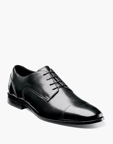 Jet Cap Toe Oxford in Black for 49.90 dollars.