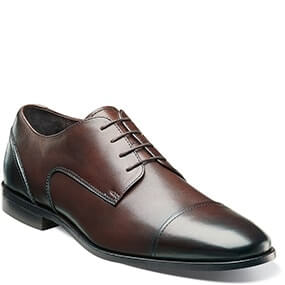 Jet Cap Toe Oxford in Brown for $69.90
