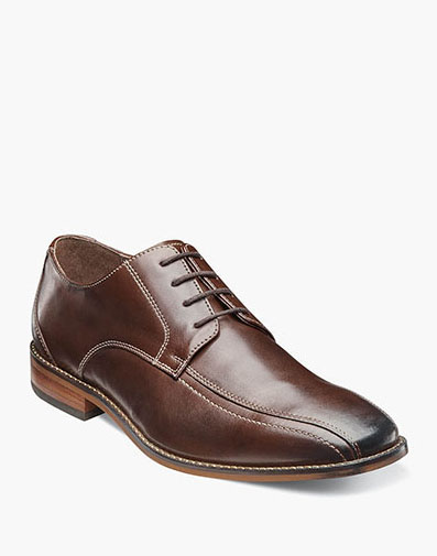 Castellano Bike Toe Oxford in Brown for 49.90 dollars.