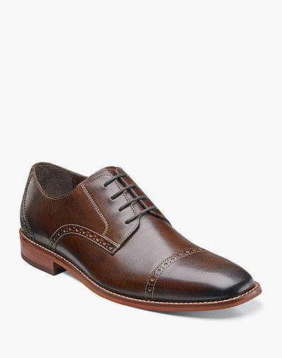 Castellano Cap Toe Oxford in Brown for 49.90 dollars.