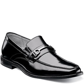 Forum Moc Toe Bit Loafer in Black for 39.90 dollars.