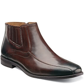 Forum Bike Toe Zipper Boot in Brown for 49.90 dollars.