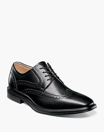 Heights  Wingtip Oxford in Black for 99.90 dollars.