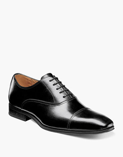 Corbetta Cap Toe Oxford in Black for 115.00 dollars.
